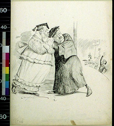 [Photo: Down with Cleveland,Low,1890-1912,Women's Costume,Cartoon,Homer Davenport] (Cleveland Costumes)