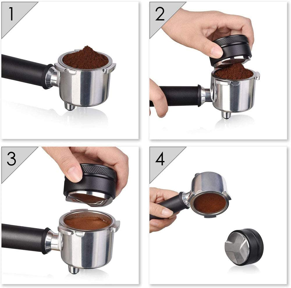 POEFT 58mm Coffee Distributor Coffee Distributor Coffee Distribution Tool Coffee Distributor Tool Coffee Distributor//Leveler