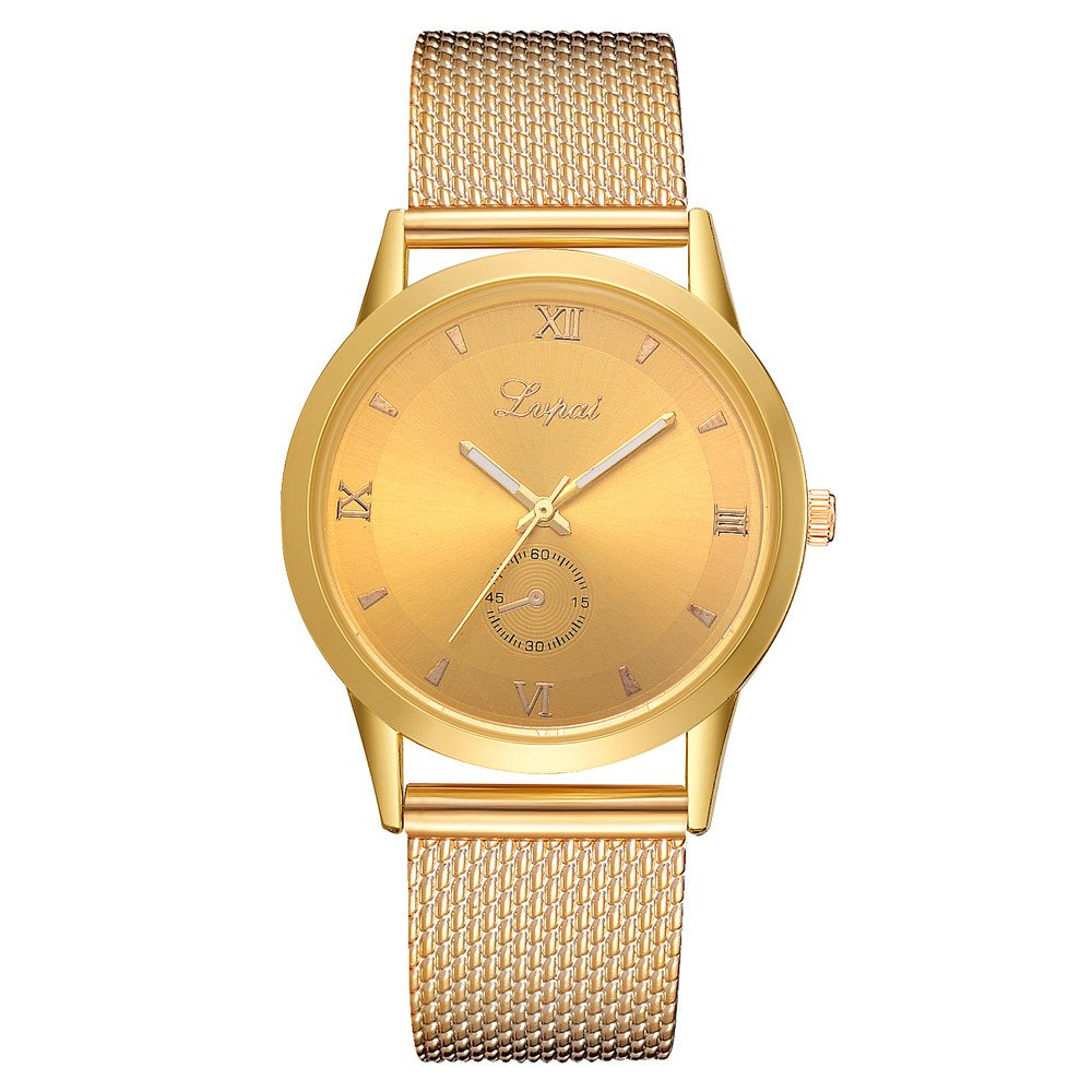Womens Watches On Sale, VANSOON Casual Quartz Silicone Strap Band Watch Analog Wrist Watch Bracelet Watches Stainless Steel Teen Girls Dress Watches Gift Clearance