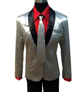 Inception Pro Infinite (Talla L) Disfraz Completo - Joker - Chaqueta - Camisa - Pantalones - Corbata - Peluca - Carnaval - Halloween - Cosplay - ...