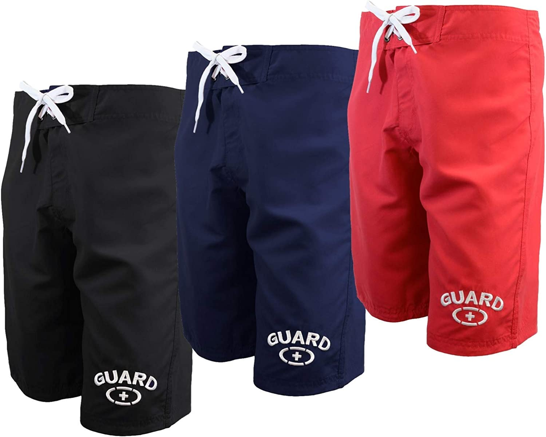 Adoretex Men's Guard Swim Board Shorts Water Shorts No Mesh Liner