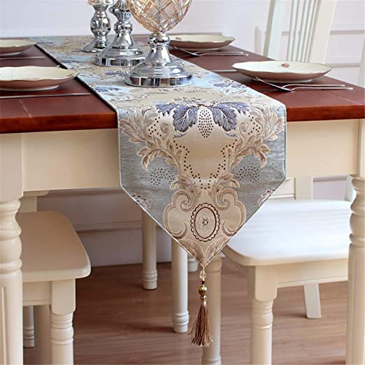XJKLFJSIU-Table Caminos de Mesa/Chenille Cama Bufanda Decorativa ...