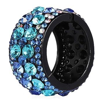 Elastic Head-wear Ponytail Ring Buckle Holder Women Girl Hair Accessories Spring