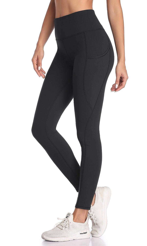 VUTRU Yoga Pants with Pocket Tummy Control Workout Pants 4 Way Stretch Yoga Leggings for Women