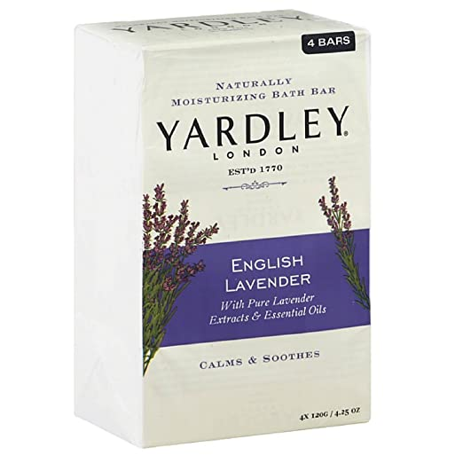 Yardley London English Lavender Moisturizing Soap Bar
