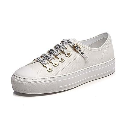 89031e2854e9b Amazon.com: Women's Canvas Shoes Womens Girls Shoes Casual Tie Low ...