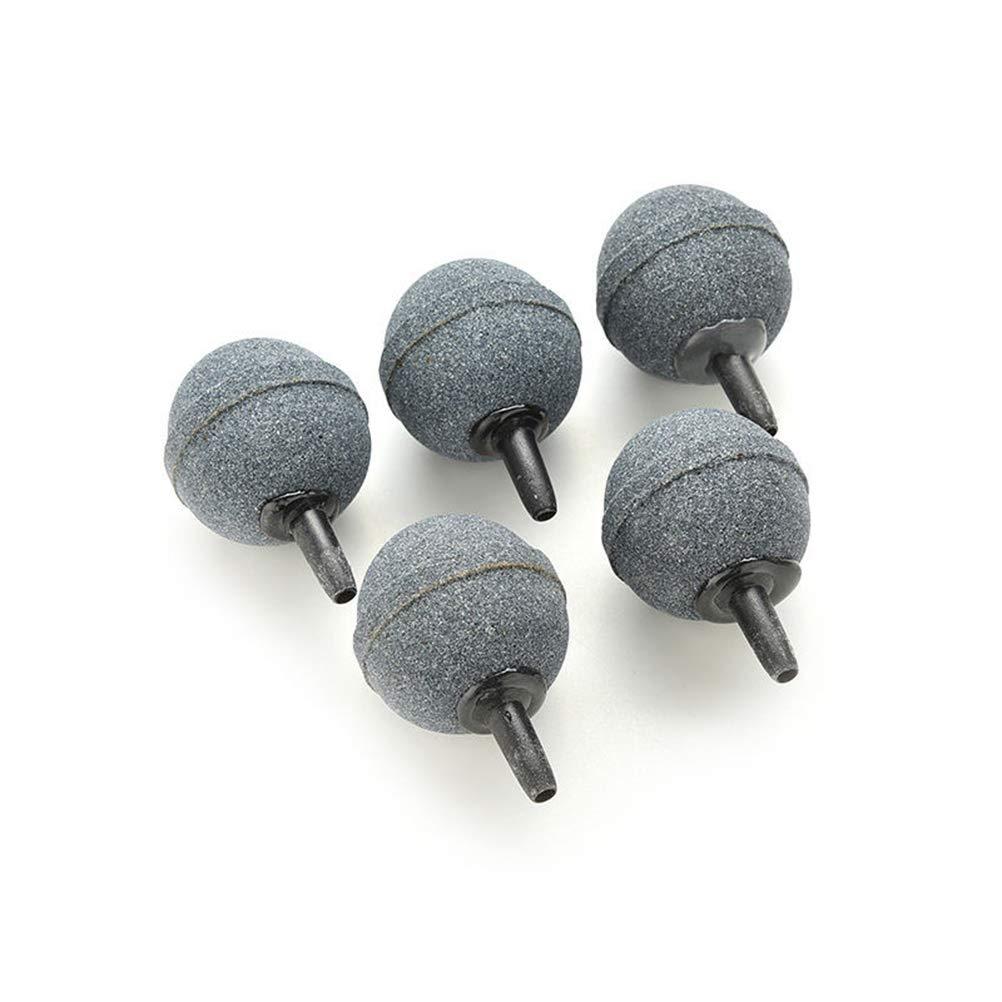 20 x 20 mm POPETPOP 6 Piezas Piedra de Aire en Forma de Bola Piedra de Oxigeno para Pecera Piedra de Aire Mineral de Burbuja para Bomba Hidrop/ónica de Acuario