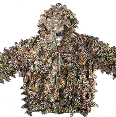 Leafy Camo (KamoLeaf 3D Leafy Ghillie Suit By Camo Basics (XL))