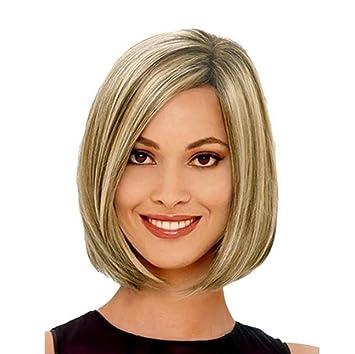 No convencionales de la personalidad de alta temperatura peluca de alambre niñas inclinados a permanecer Hai