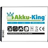 Akku-King Akku für Samsung Galaxy Nexus GT-i9250 - ersetzt EB-L1F2HVU - Li-Ion 1900mAh mit NFC