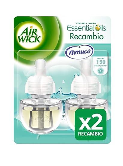 Air Wick Ambientador Eléctrico Recambio Duplo Nenuco, 2 x 19 ml - Total: 38
