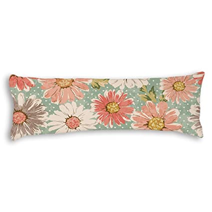 Veronicaca Vintage Flowers Custom Cotton Body Pillow Covers Pillow Cases  20