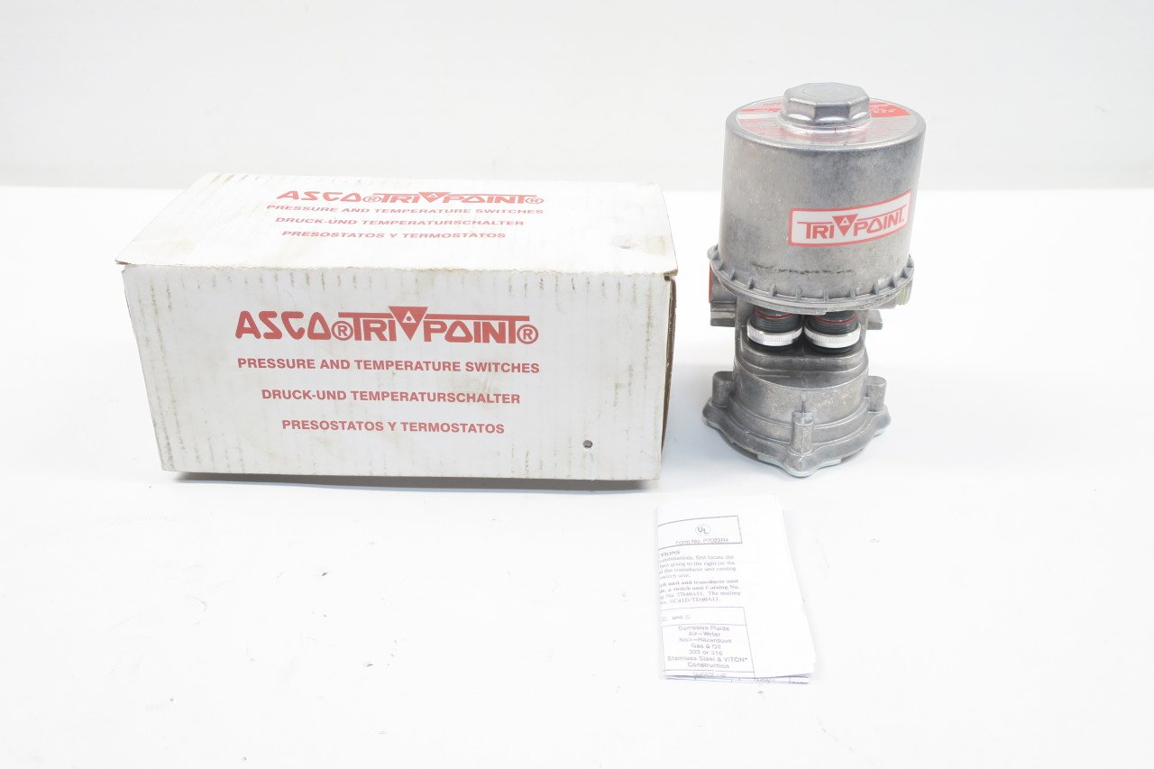 ASCO SA22DW TRIPOINT Pressure Switch 125/250V-AC 20A AMP 2HP D591316: Amazon.com: Industrial & Scientific