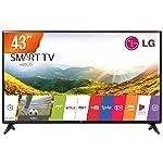 "TV 43"" LED Smart Full HD HDMI USB - 43LJ551C. BWZ, LG"