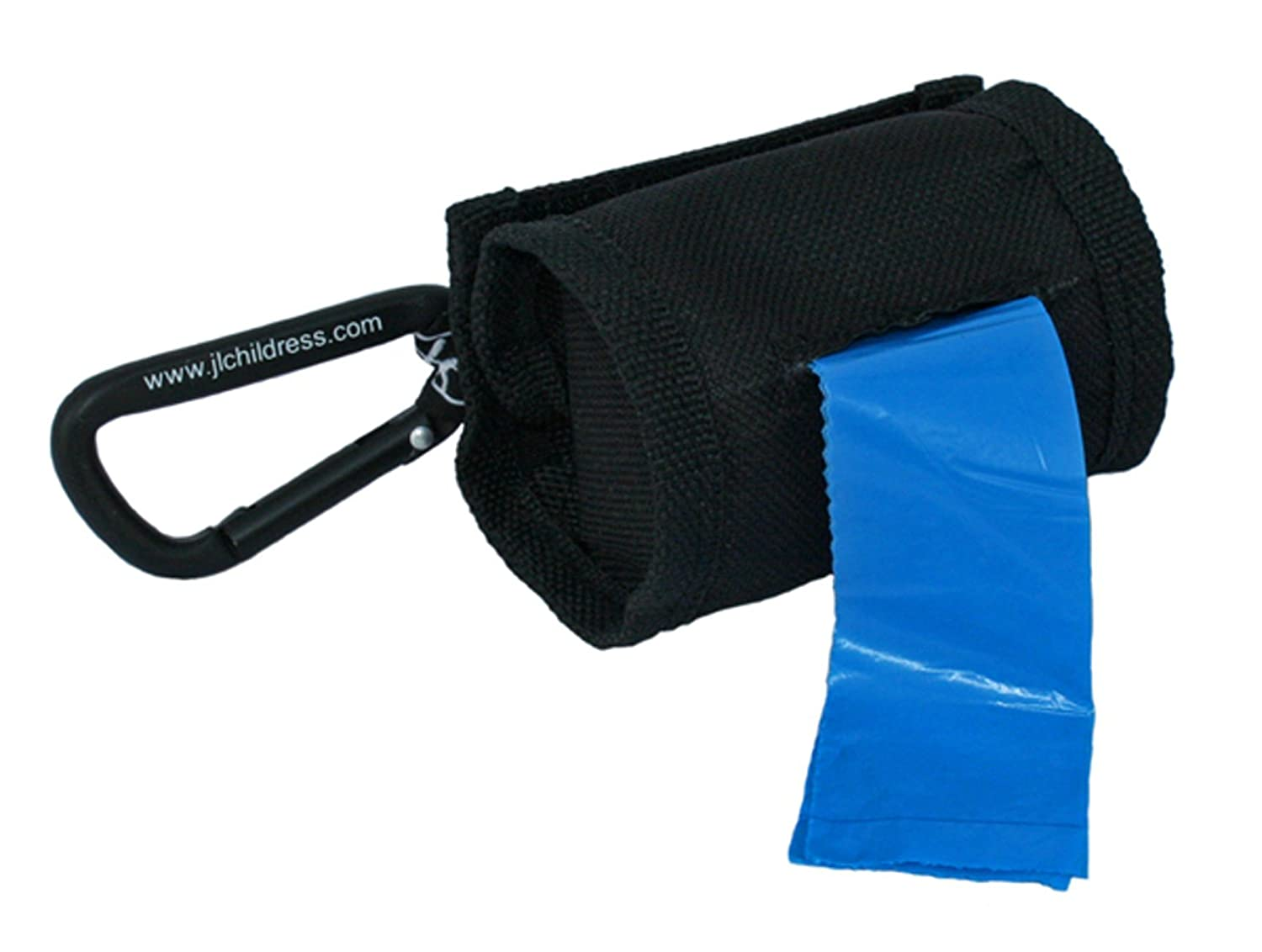 J. L. Childress Bag 'N Bags Duffle Dispenser with 30 Disposable Bags, Black, 1 Pack 1120BLK