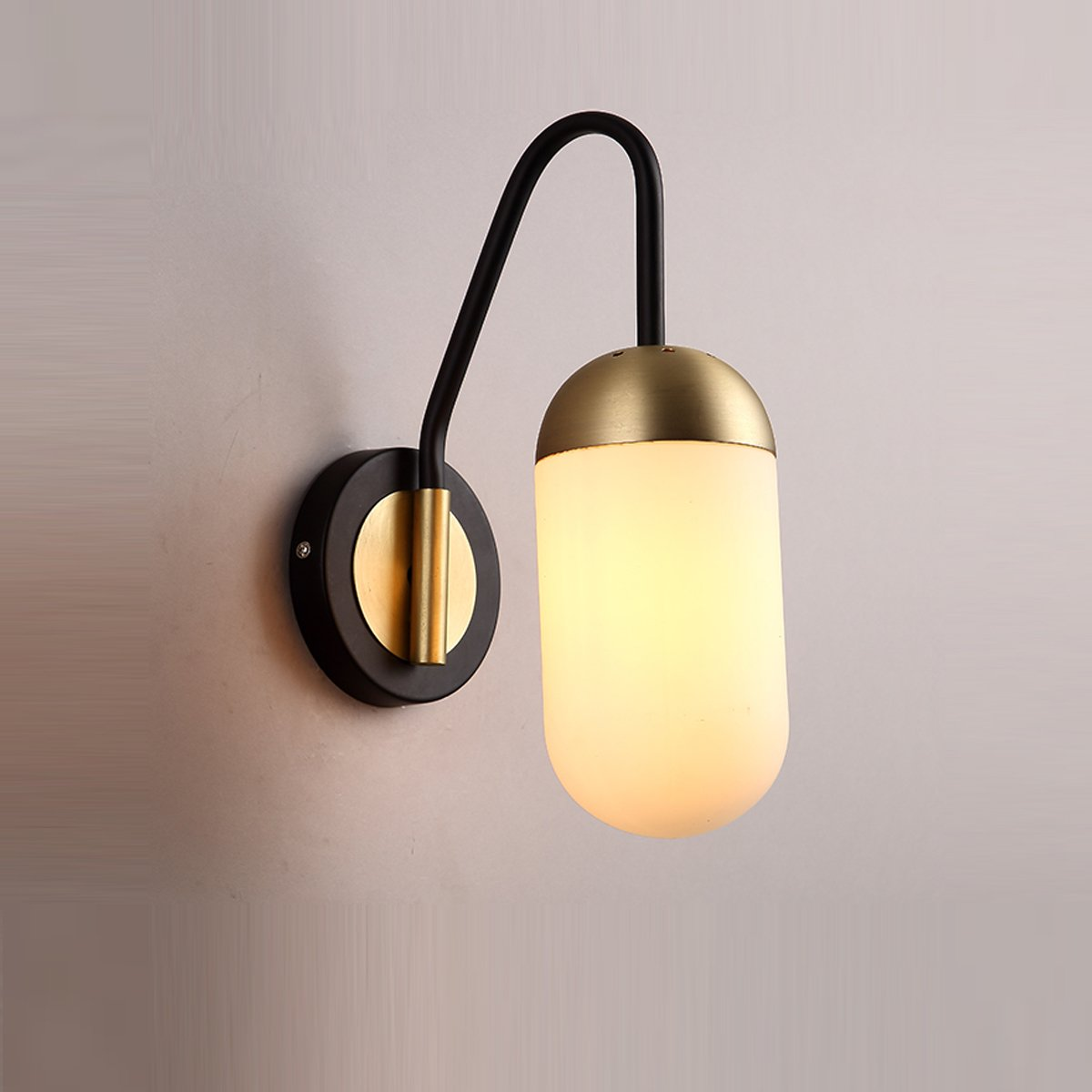MASO HOME, Capsule shaped Wall Lamps. Wall Light, Wall Sconce, and ...