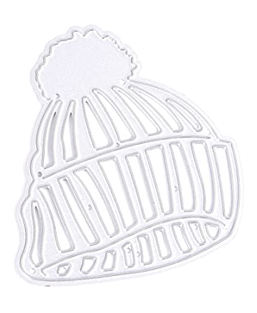 amazon com zeroyoyo baby beanie hat diy card making cutting dies