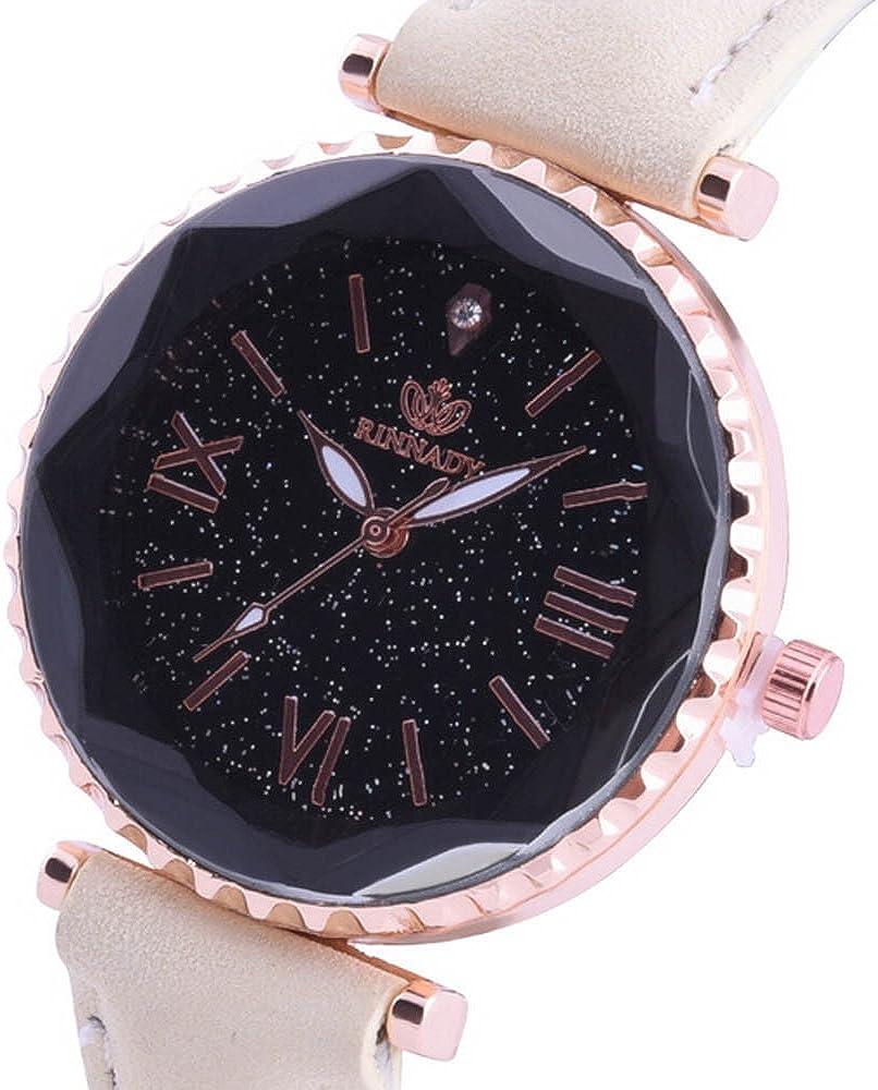 Darringls_Reloj RINNADY 052,Reloj de Cuarzo de aleación analógico Casual para Mujer Hombre Unisex Retro Relojes para Unisex Reloj de Pulsera Elegante: Amazon.es: Ropa y accesorios