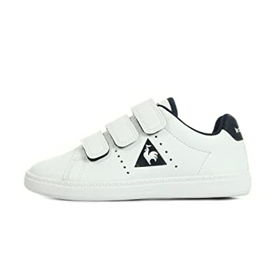 a5764bf806b9 Le Coq Sportif Unisex Kids  Courtone Ps S Low-Top Sneakers  Amazon.co.uk   Shoes   Bags