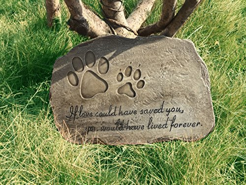 Cat Memorial Garden (Petorial Pet Memorial Stone Plaque (Irregular shape))