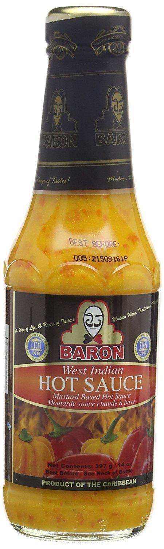 Baron West Indian Hot Sauce - 14 fl.oz