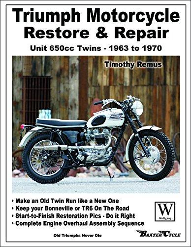 Triumph Motorcycle: Restore & Repair