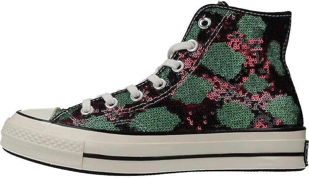 Converse Chuck 70 Hi Basket Femme Vert Redgre