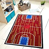 Furnishmyplace Basketball Ground Kids Area Rug Size 3'3'x5'