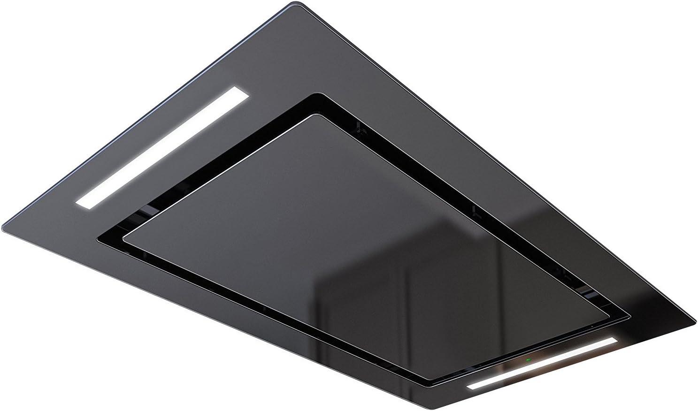 Bielmeier v875140 techo Extractor Campana, 100 cm, cristal negro: Amazon.es: Grandes electrodomésticos