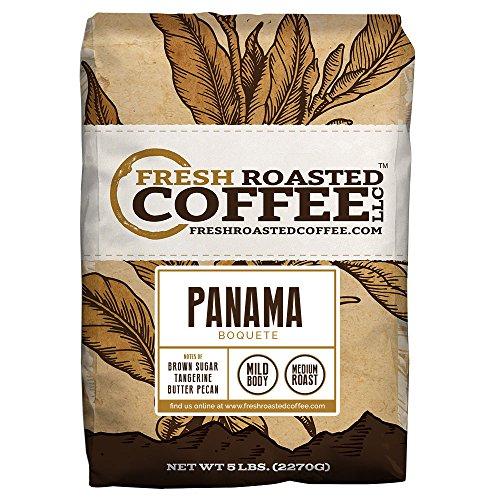 Panama Boquete Coffee, 5 Lb. Bag, Whole Bean Coffee, Fresh Roasted Coffee LLC. -