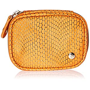 Stephanie Johnson Women's Havana Steph Small Jewelry Case, Orange