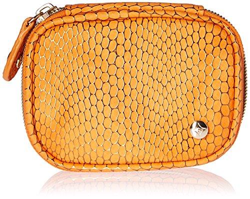 Stephanie Johnson Women's Havana Steph Small Jewelry Case, Orange
