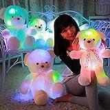 MFEIR Ours Teddy Peluche lumineux cadeau pour les filles 35cm