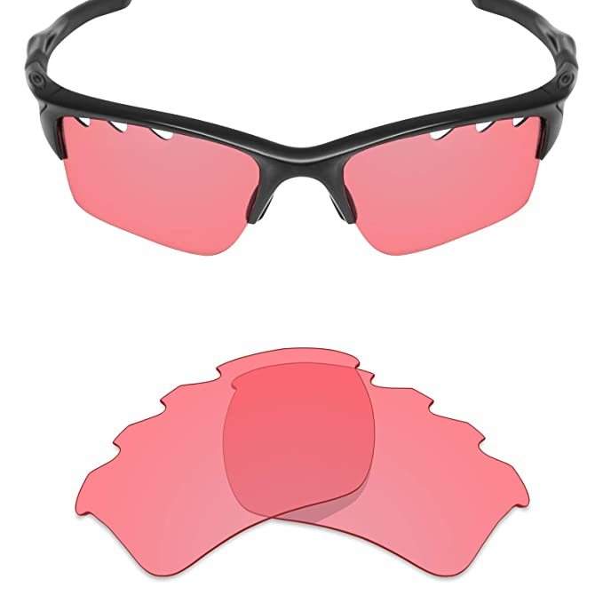 a22c357cbc Mryok UV400 Replacement Lenses for Oakley Half Jacket 2.0 XL Vented - HD  Pink