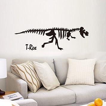 Bomeautify Papiers Peints Stickers 3d Dinosaure Squelette Maternelle