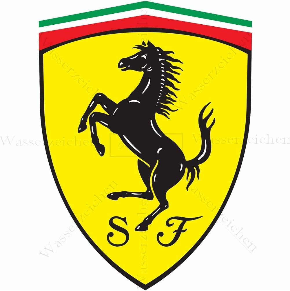 Marzocchi-Racing-66-Rot AD100-UV/&Waschanlagenfest-Auto-Sticker Decal Profi Qualit/ät farbig Digital-Schnitt! Aufkleber-Folie Wetterfest Made IN Germany kompatibel f/ür 15cm
