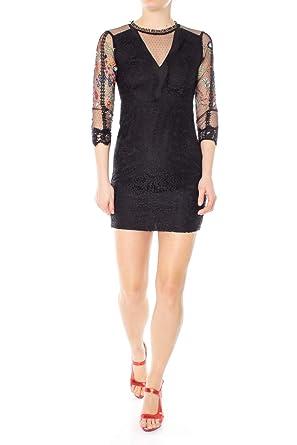 b5f0b09caac Desigual Robe Mariella Noir 19swvw42  Amazon.fr  Vêtements et ...