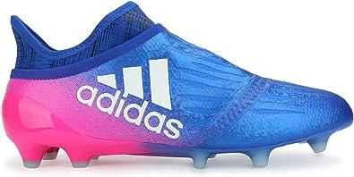 Saqueo docena Sentimental  Amazon.com | adidas Men's X 16+ Purechaos FG Blue/White Soccer Shoes - 9A |  Soccer