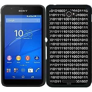 Funda para Sony Xperia E4 - El Código Binario En Dos by BruceStanfieldArtist