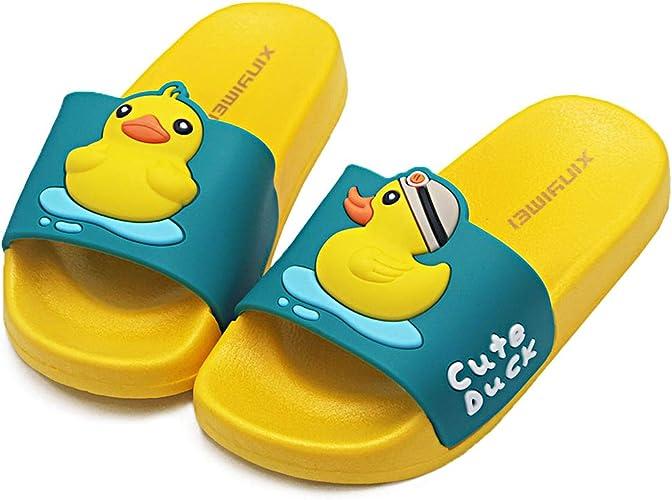 HSNA Zapatillas de Ducha para Niños Chanclas Piscina Niña Sandalias de Baño Antideslizantes: Amazon.es: Zapatos y complementos
