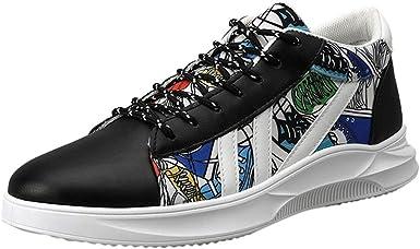 Men's Graffiti Canvas Sneakers High-Top