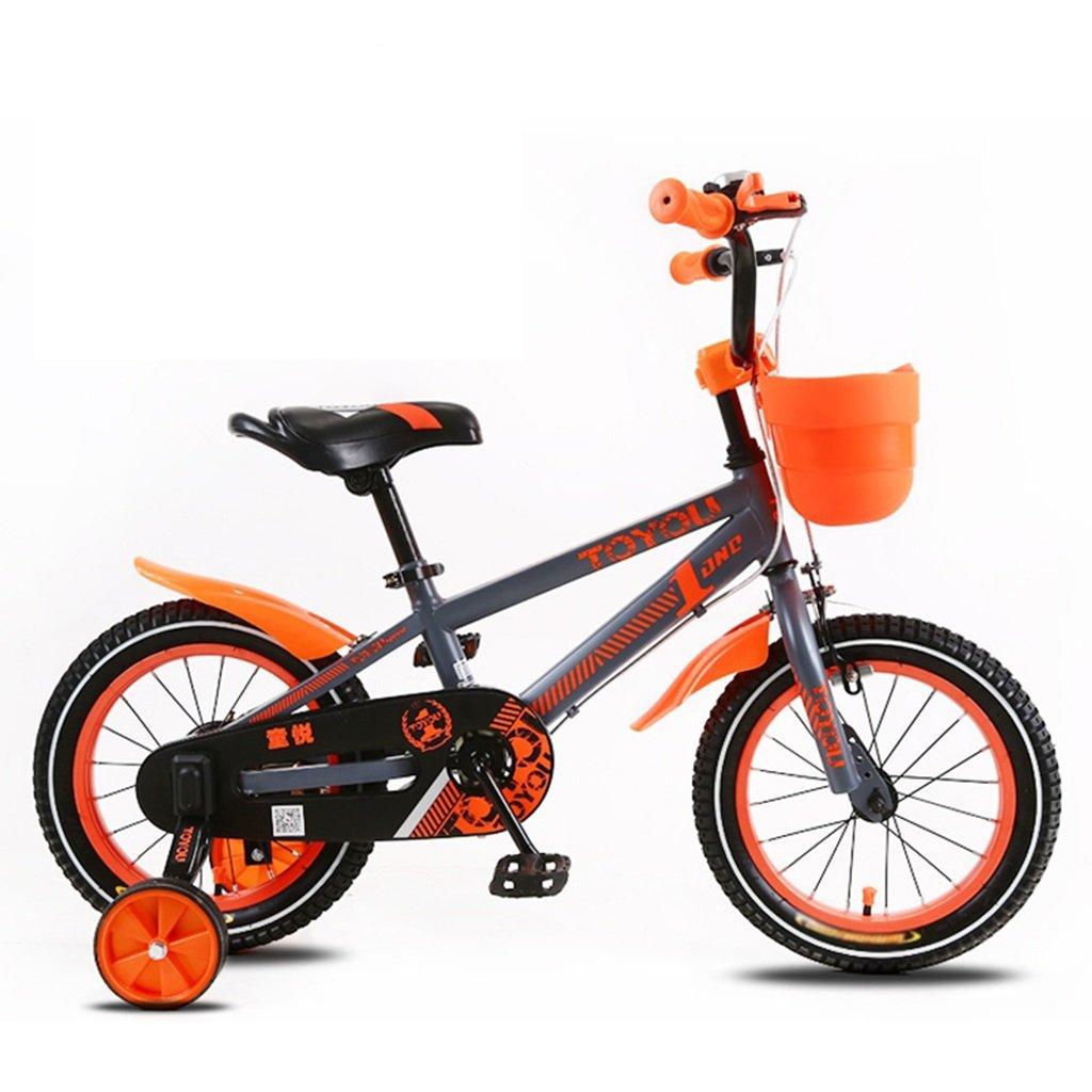 CSQ 子供の自転車、サイドの車輪のバスケット付きの赤ちゃんのための赤ちゃん快適な座席2-10歳の使用93-120CM 子供用自転車 (色 : D, サイズ さいず : 105CM) B07DXB3XLP 105CM|D D 105CM