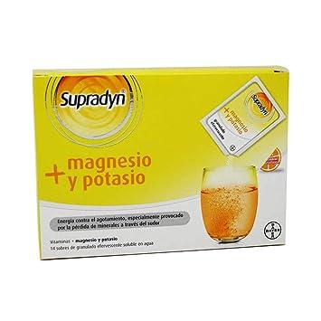 SUPRADYN MAGNESIO POTASIO 14 SOBRES: Amazon.es: Salud y ...