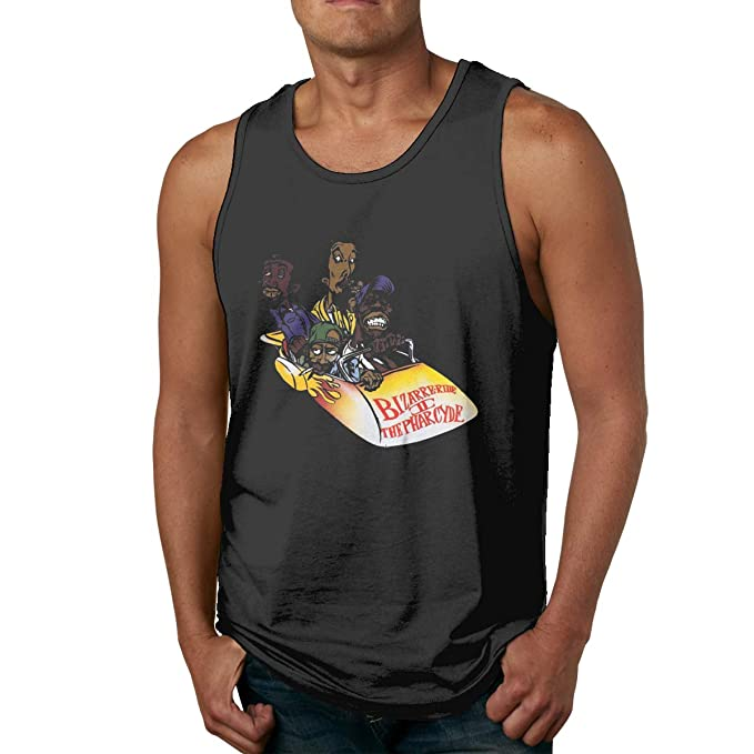 Pzenwts The Pharcyde Art Funny Cool Vest,Fashion Mens Personality Soft T Shirt Gift