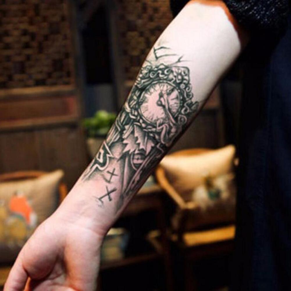 GREEN HOME 1 1 UNID Tatuajes Temporales Reloj Brazo Impermeable Al Por Mayor de Simulación Ambiental Moda Tatuaje Pegatinas Pegatinas de Arte Corporal para ...