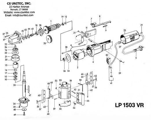 Cs Unitec Lp 1503 Air Professional Pneumatic Linear Finishing System