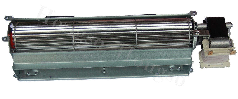 Hongso 17Y BK BKT GA3650 GA3700 GA3750 Replacment Fireplace Blower Fan Unit Desa, FMI, Vanguard, Vexar, Comfort Flame Glow, Rotom