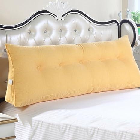 ZfgG Sofá cama Cojín de cuña triangular grande, Almohada del ...