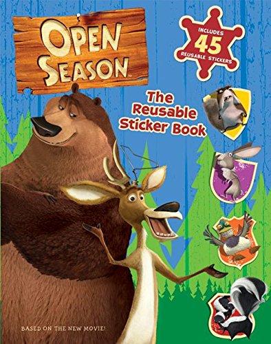 Read Online Open Season: The Reusable Sticker Book pdf epub
