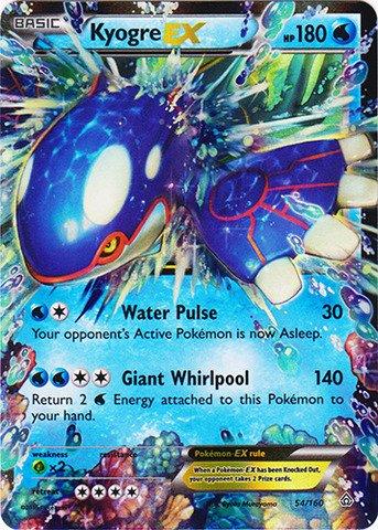 Pokemon - Kyogre-EX - 54/160  XY Primal Clash